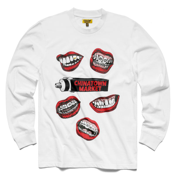 MOUTH L/S (WHITE)