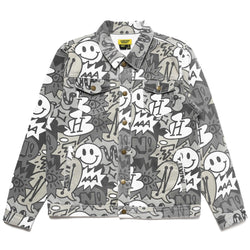 SPEECH BUBBLE DENIM JACKET
