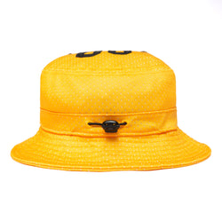 SMILEY MESH BUCKET HAT