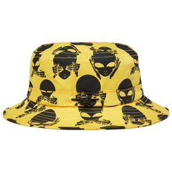 NO EVIL BUCKET HAT