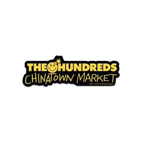 THE HUNDREDS x CTM BAR STICKER (BLACK)