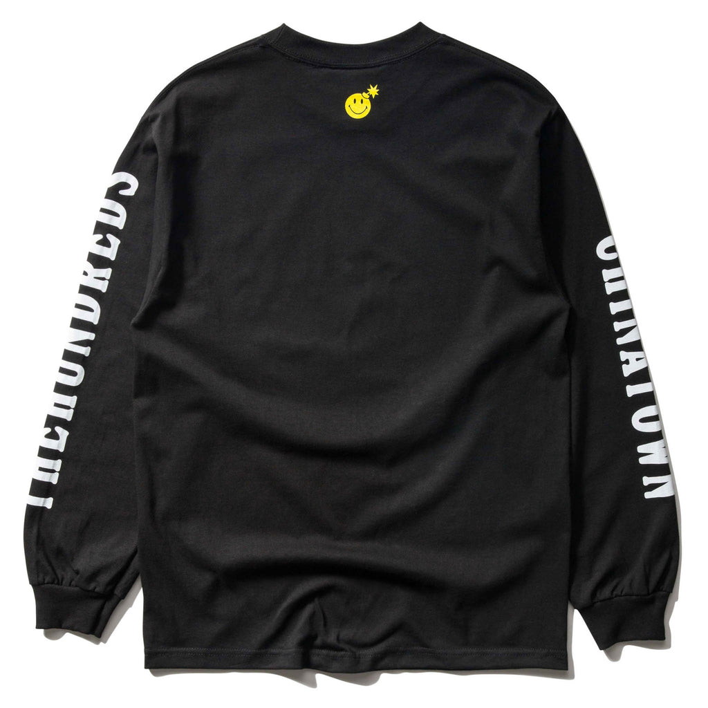 THE HUNDREDS x CTM SMILEY ADAM L/S (BLACK)