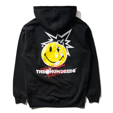 THE HUNDREDS x CTM CROSSOUT HOODIE (BLACK)