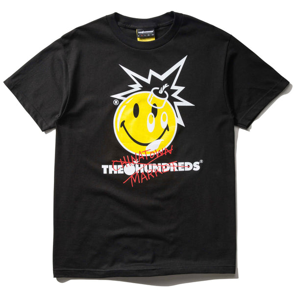 THE HUNDREDS x CTM CROSSOUT T-SHIRT (BLACK)