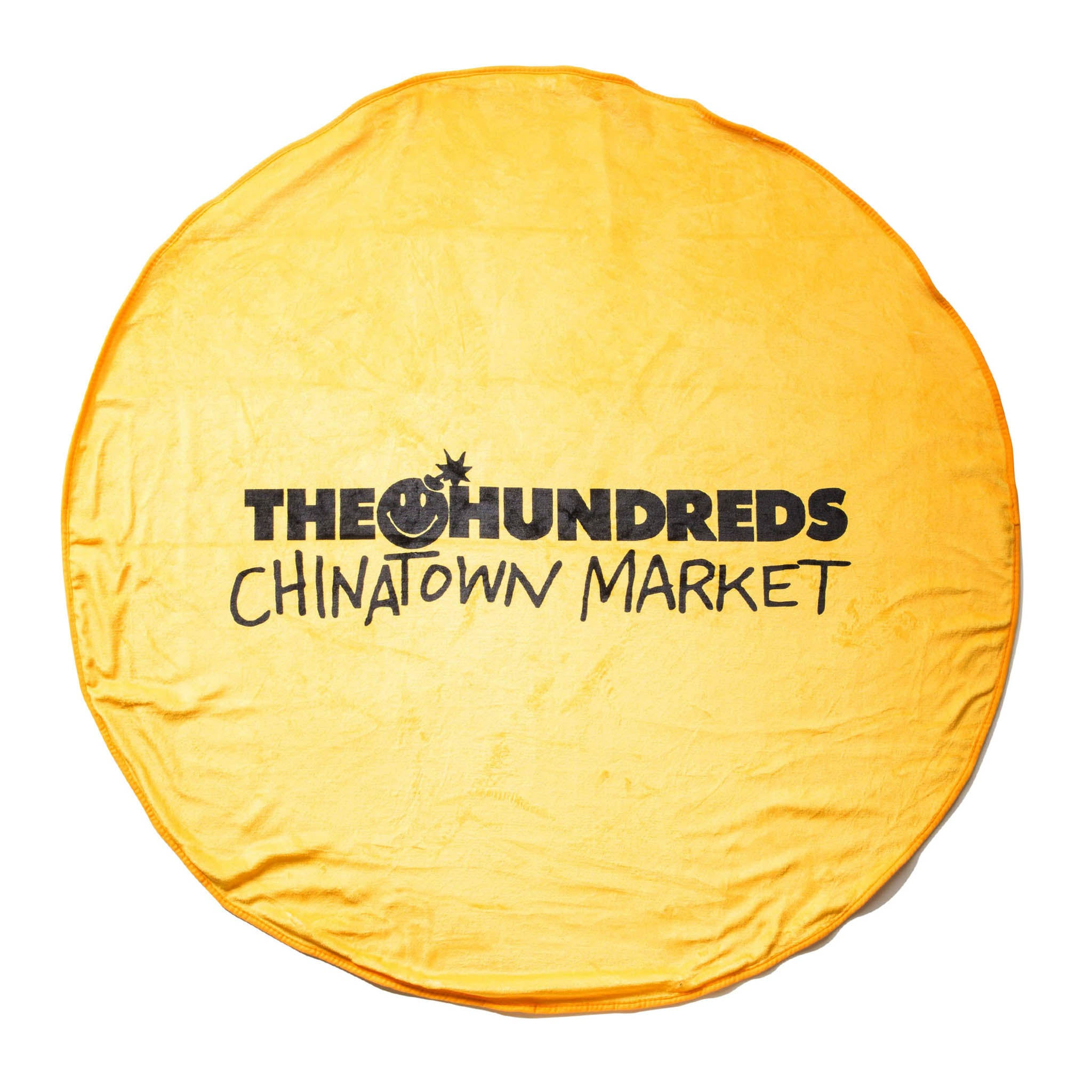 THE HUNDREDS x CTM HAPPY BLANKET (YELLOW)