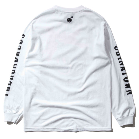 THE HUNDREDS x CTM SMILEY ADAM L/S (WHITE)