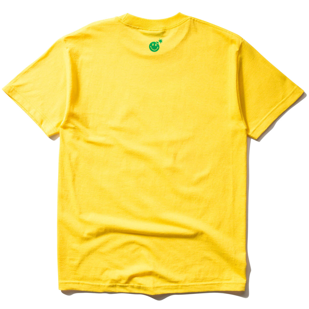 THE HUNDREDS x CTM BAR T-SHIRT (YELLOW)