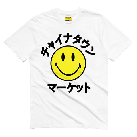 SMILEY KATAKANA T-SHIRT (WHITE)