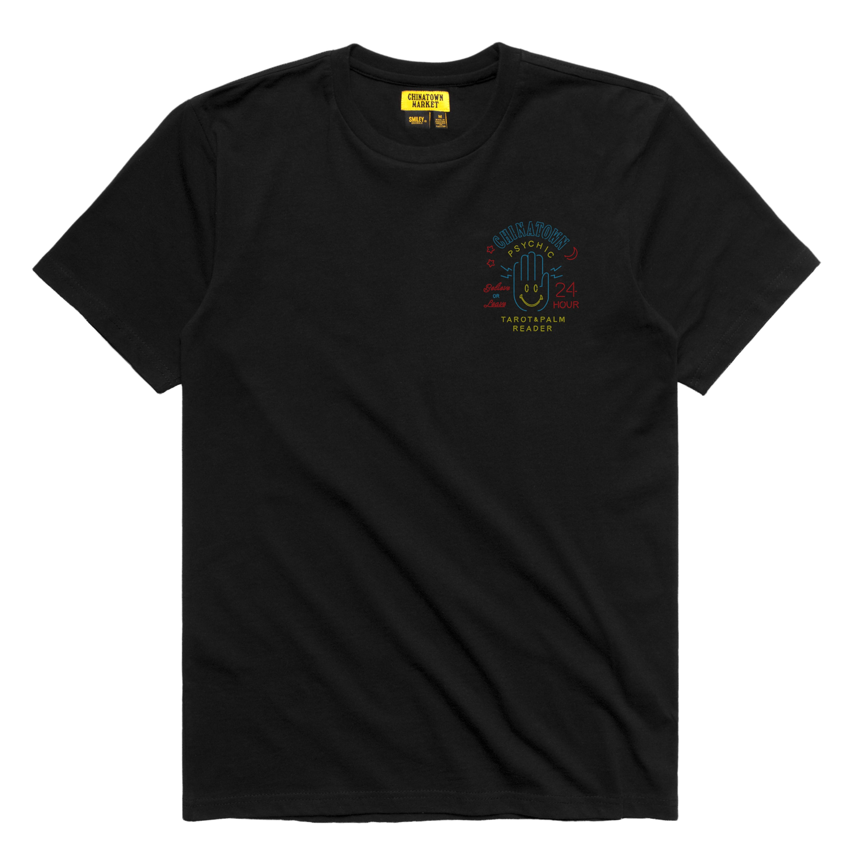 SMILEY PSYCHIC T-SHIRT (BLACK)