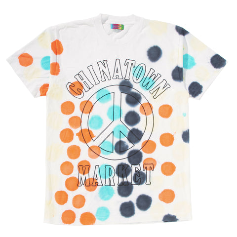 PEACE T-SHIRT (DOT DYE)