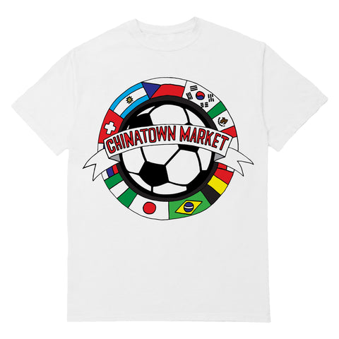 FLAGS T-SHIRT (WHITE)