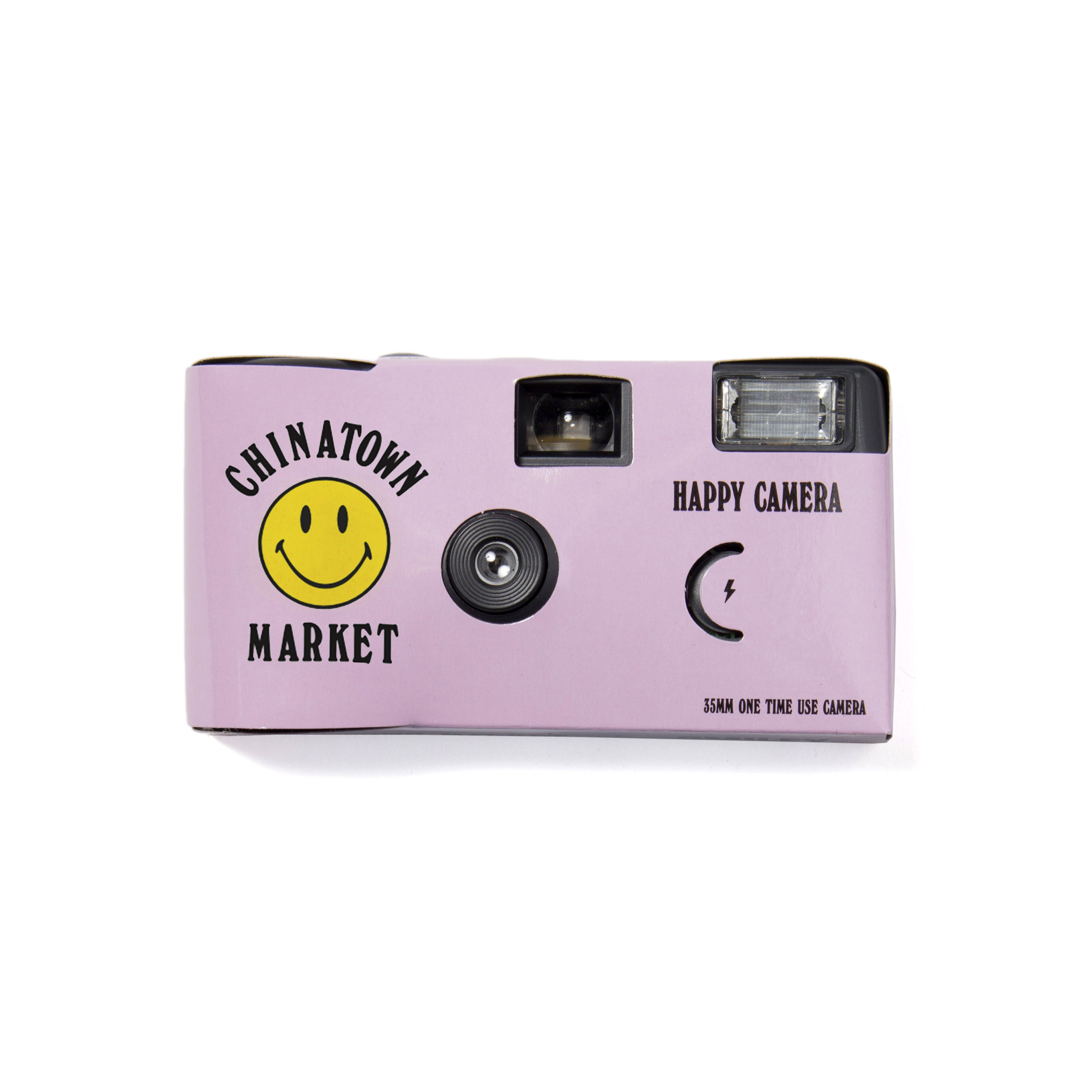 SMILEY DISPOSABLE CAMERA (PINK)