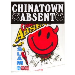 CTM x ABSENT STICKER PACK