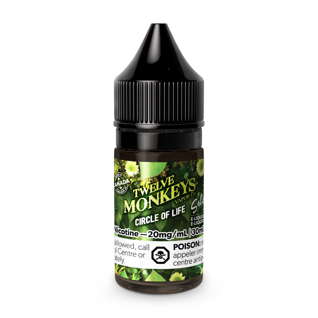 Twelve Monkeys Salts: COL - Circle of Life (30mL)