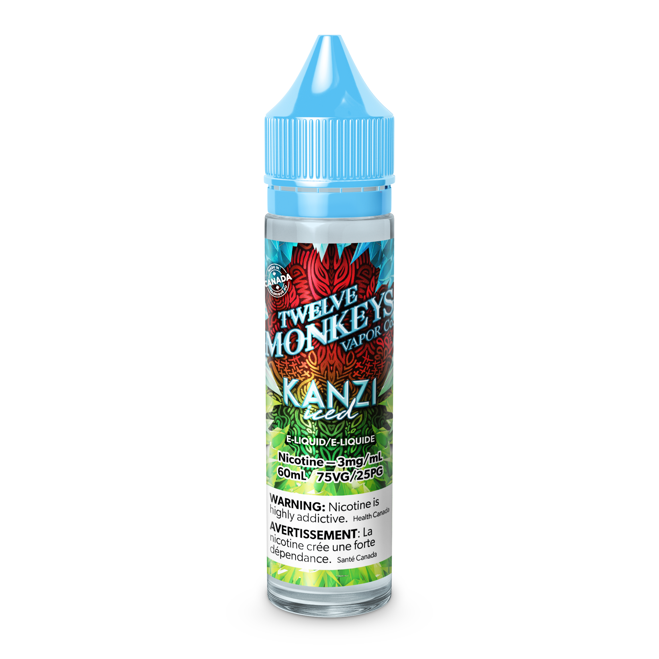 Twelve Monkeys: Ice Age Kanzi (60mL)