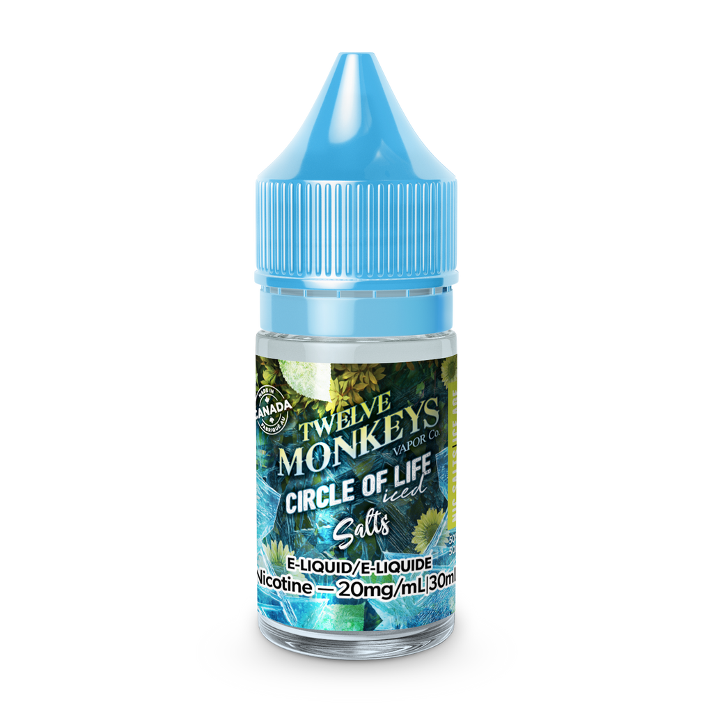 Twelve Monkeys Salts: COL - Ice Age Circle of Life (30mL)