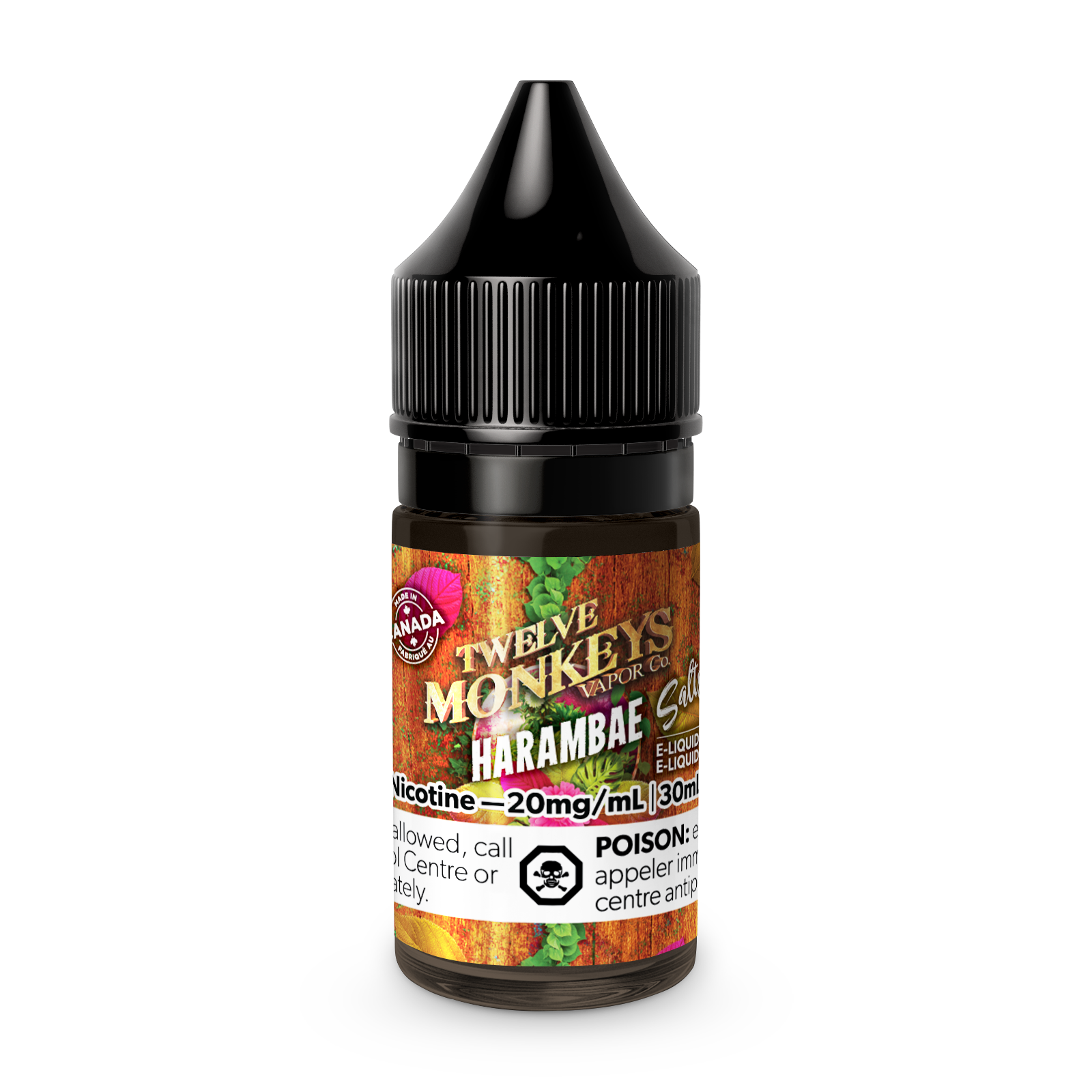 Twelve Monkeys Salts: Harambae (30mL)