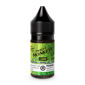 Twelve Monkeys Salts: Lemur (30mL)