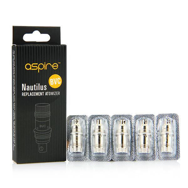 ASPIRE NAUTILUS BVC COIL UNIT/REPLACEMENT ATOMIZER - 437 VAPES