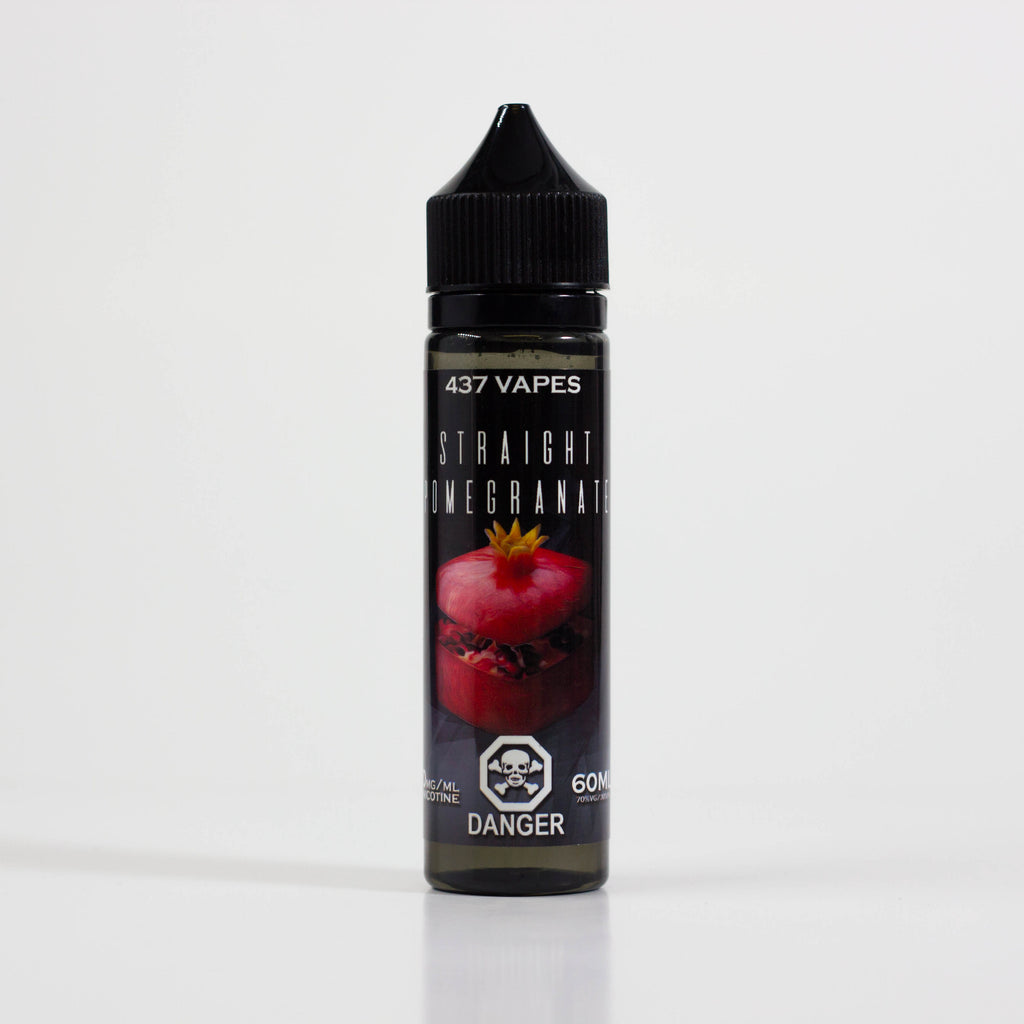 Straight Pomegranate by 437 VAPES - 437 VAPES