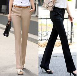 www.Petalsfashionz.com Quick shipping low prices women's Business attire Plus Size Trousers Women Pants  Spring Summer Casual OL Formal Harem Pants Women Office Dress Pants Flare Trousers