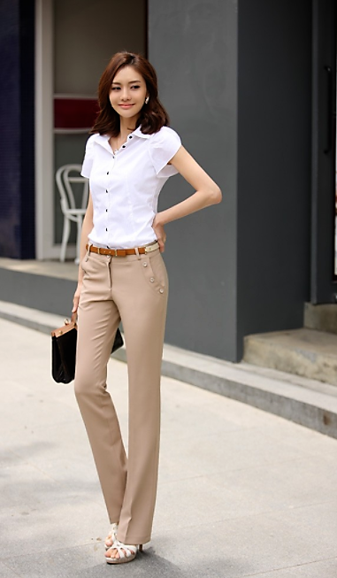 New Plus Size Trousers Women Pants Spring Summer Casual OL Formal Harem  Pants Women Office Dress Pants Flare Trousers