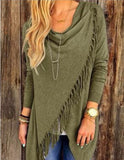 www.Petalsfashionz.com Quick shipping low prices women's cardigans Green