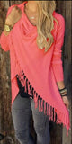 www.Petalsfashionz.com Quick shipping low prices women's cardigans Watermelon