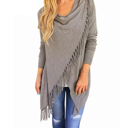 New Women's sweaters cardigan Long Sleeve Slash Knitted Cardigan Sweater Women Plus Size XXL 3XL