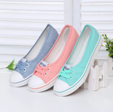 www.Petalsfashionz.com Quick shipping low prices women's Heel & Boots Shoes Apparel Summer Flats Classic Students Simple Lazy Low Canvas Shoes