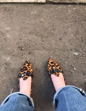 www.Petalsfashionz.com Quick shipping low prices women's Heel & Boots Shoes Apparel Flats Leopard Pointed Loafers Shoes Slip-on Ladies