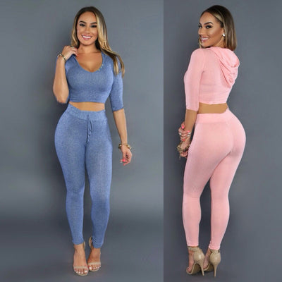 www.Petalsfashionz.com Quick shipping low prices women's rompers & jumpsuits Winter Fleece Two Pieces Outfits Bodysuit Long Sleeve Elastic Sexy Club Bodycon Playsuit