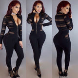 www.Petalsfashionz.com Quick shipping low prices women's rompers & jumpsuits v neck rompers women jumpsuit full-length sexy jumpsuit slim bodysuit women clubwear