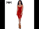 www.Petalsfashionz.com Quick shipping low prices women's Club Dresses Sleeveless Sexy Night Club Dress Elegant Ladies Bodycon Pencil Bandage Velour, Dress Red