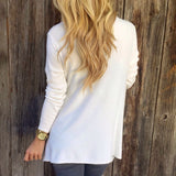 www.Petalsfashionz.com Quick shipping low prices women's cardigans White