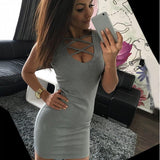 www.Petalsfashionz.com Quick shipping low prices women's club dresses Gray