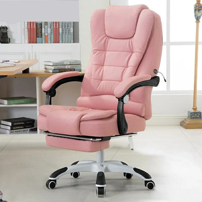 www.Petalsfashionz.com Quick shipping low prices Home Office Essential Computer Chair Household PU Office Chair Swivel Lifting Gaming Chair Massage Function Silla Oficina Cadeira Gamer