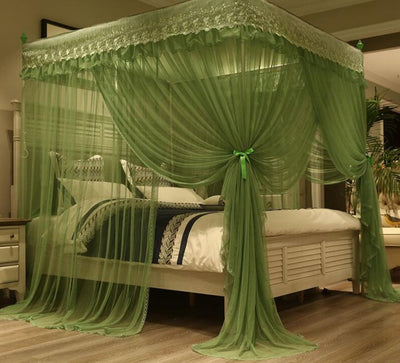 www.Petalsfashionz.com Quick shipping low prices Bedroom Design And Decor Collection Princess Style Mosquito Nets For Bed Thickened Steeless Stents Insect Net Mosquito Netting Curtains 3 Opening Door