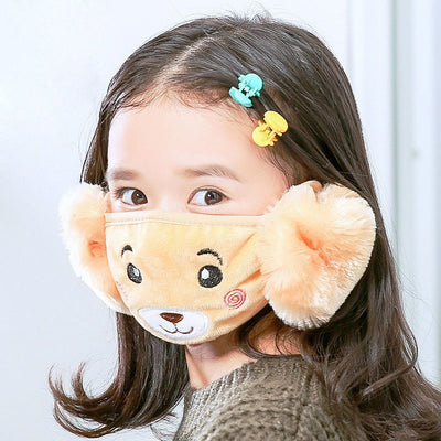 www.Petalsfashionz.com Quick shipping low prices face mask  Mother Kids Cute Bear Ear Protective Face Mask Windproof Face Mask Anti Dust Virus  Flu,  Corona Virus Face Masks