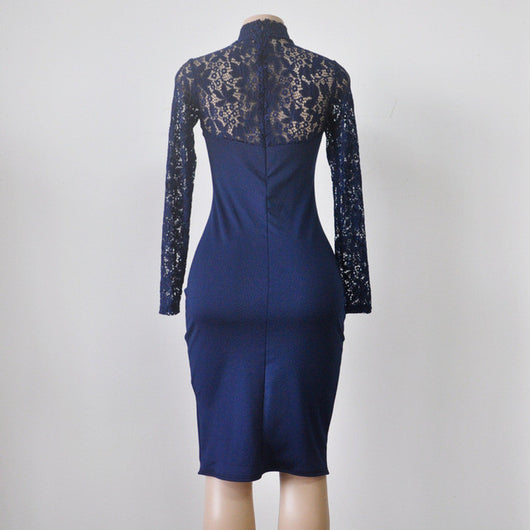www.Petalsfashionz.com Quick shipping low prices women's evening dresses and wrap dresses Blue,