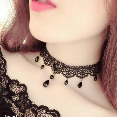 www.Petalsfashionz.com Quick shipping low prices $20 Or Less Women's Apparel And Accessories New Fashion Black Velvet Choker Necklace for Women Statement Chocker Necklaces Pendants Bijoux Femme Collier Jewelry Collares Muje