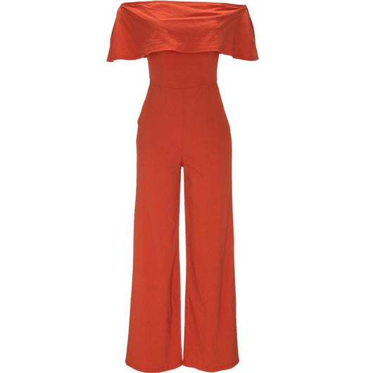 www.Petalsfashionz.com Quick shipping low prices women's rompers & jumpsuits short-sleeved summer jumpsuits sexy fashion that show a shoulder loose jumpsuits Romper