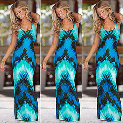 www.Petalsfashionz.com Quick shipping low prices women's Maxi Dresses & Sundresses sleeveless vest Celeb Sexy Maxi Dress Ladies Summer Beach Party Sun Dress