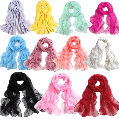 www.Petalsfashionz.com Quick shipping low prices women's Scarves  Long Soft Thin Wrap Lady Shawl Chiffon Scarf Beach Scarves in Women's Accessories Infinity Scarf Scarves & Shawls