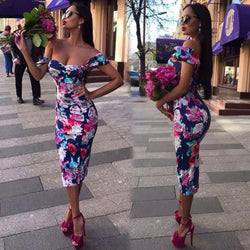 www.Petalsfashionz.com Quick shipping low prices women's maxi dresses & sundresses Summer Bodycon Casual Long Evening Party Beach Dress Sundress