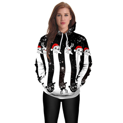 www.Petalsfashionz.com Quick shipping low prices women's Anime & Kpop Otaku And Fandom Merchandise New Women Christmas Casual Hoodies Print Pullover Hoodie Sweatshirt Pullover Tops