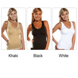 www.Petalsfashionz.com Quick shipping low prices women's Body enhancement Sexy solid color camisole comfortable elastic Shaper Underwear Body Shaper Vest Corset
