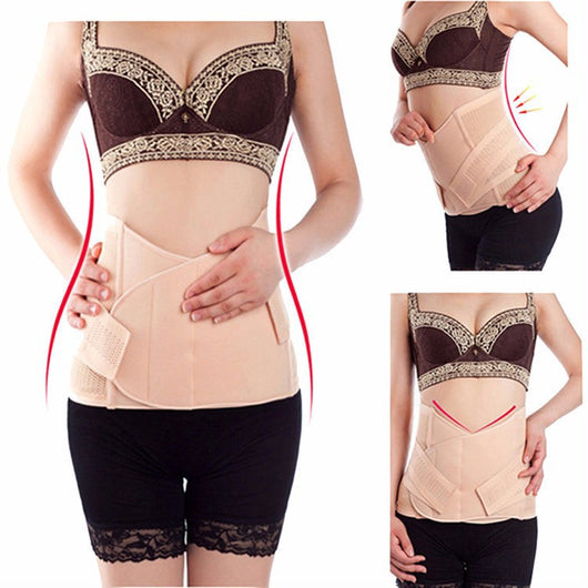 Women Postpartum Belly Recovery Belt Maternity Tummy Wrap Corset Post Pregnancy Girdle Slimming Waist Belly Band Shapewear