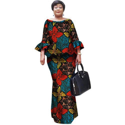 www.Petalsfashionz.com Quick shipping low prices women's Traditional Attire  African Wax Print Skirt Sets Bazin Riche  African Clothing Dashiki Two Piece Skirt Set