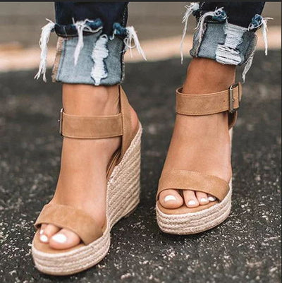 www.Petalsfashionz.com Quick shipping low prices women's Heel & Boots Shoes Apparel Summer Wedges Pumps Sandals Women High Platform Heels Cozy Shoes Open Toe Elevator Wedge Sandal Plus Size 10 cm